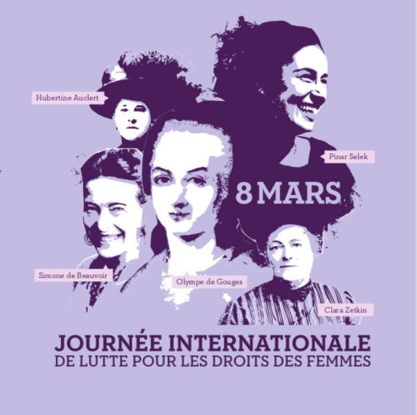 8 Mars: L'occasion de revendiquer l'égalité, et de faire un bilan sur la situation des femmes